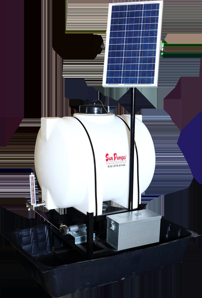 Sun Pumper 1 Solar Powered Chemical Pump On Earth